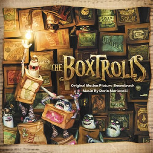 Original album cover of Boxtrolls - O.S.T. by Original Motion PIcture Soundtrack