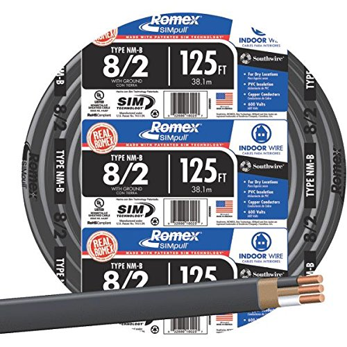 Southwire 28893602 Nonmetallic With Ground Sheathed Cable