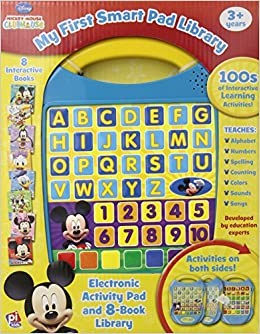 Disney 174 Mickey Mouse Clubhouse My First Smart Pad Library
