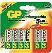 GP Batteries GP270AAHC-C4 Aa Nickel Metal Hydride Batteries X 4 2700 Mah