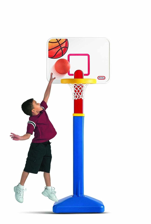 An Image of Little Tikes Adjust N Jam Basketball Set