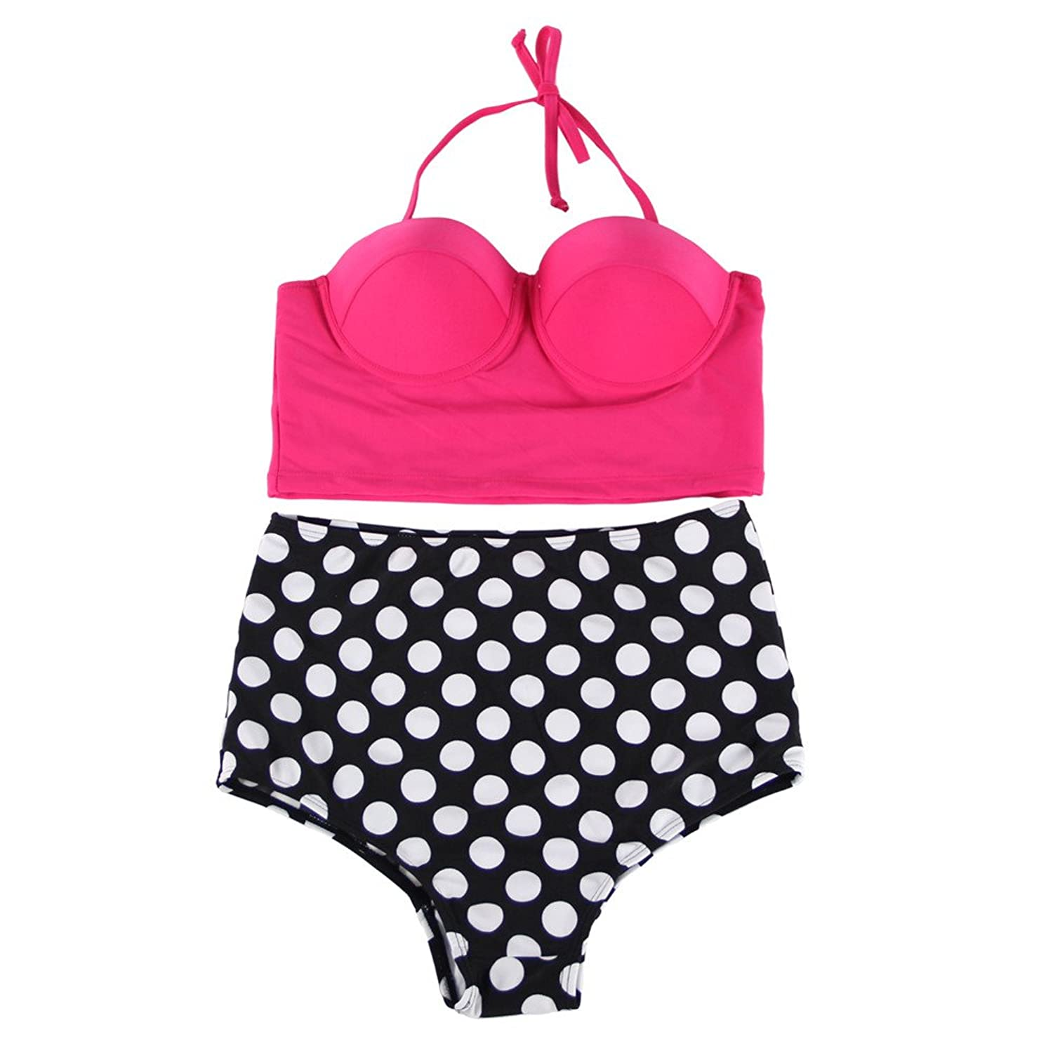 Your Gallery Retro Sexy High Waist Pin up Bikini Sets Polka Dot Swimwear Swimsuit your gallery retro sexy high waist pin up bikini sets polka dot swimwear swimsuit