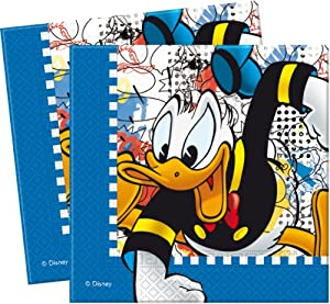 Donald Duck Party - Donald Mania Party Paper Lunch Napkins x 16