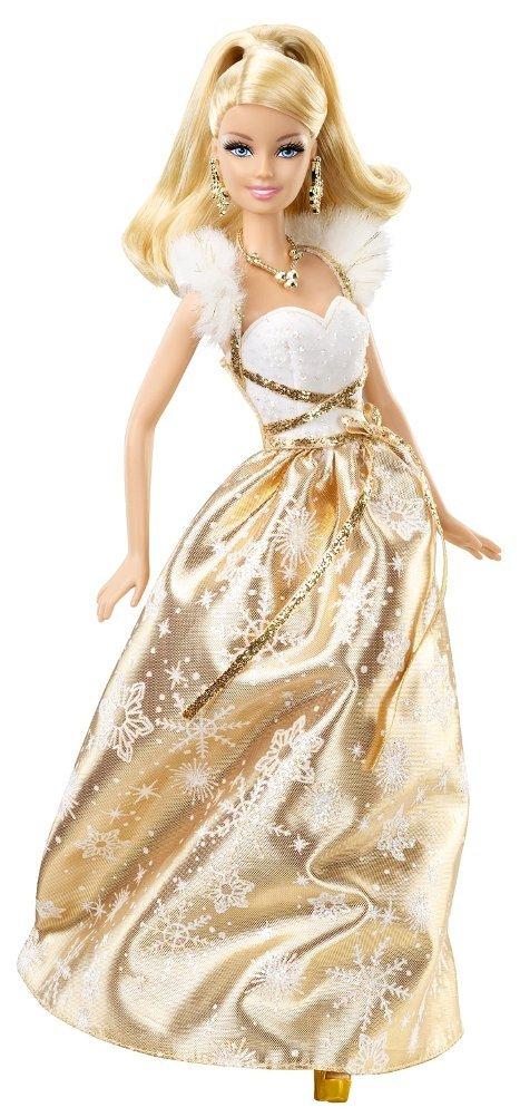 Barbie Weihnachten X4869 – Holiday Wishes Puppe – Weihnachtsbarbie 2011 jetzt kaufen
