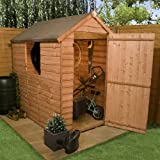 BillyOh Traditional Economy Apex 5' x 3' Wooden Garden Shed