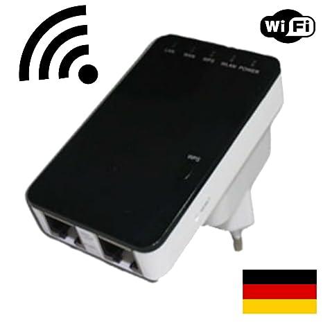 300Mbps High Speed WiFi répéteur amplificateur de Wifi + Client + fonction Bridge + Mini routeur + Bouton WPS + 2x port LAN