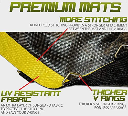 Premium Trampoline Mat Fits 14 Frames Has 72 V Rings Fits