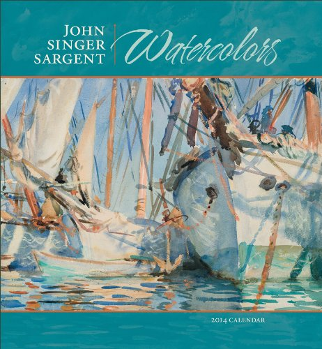 John Singer Sargent Watercolors 2014 Wall Calendar