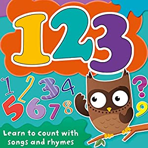 123: Learn to Count with Songs and Rhymes Audiobook