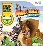 Madagascar Kartz with Wheel - Nintendo Wii (Bundle with Wheel)