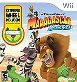 Madagascar Kartz with Wheel - Nintendo Wii (Bundle with Wheel)