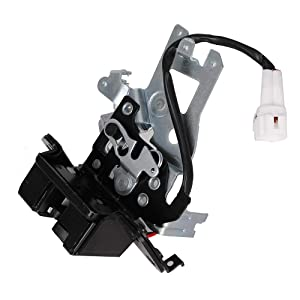 Integrated Liftgate Lock Actuator Rear Trunk Hatch Tailgate Latch with Cable Assembly for 2001-2007 Toyota Sequoia Replace # 69301-0C010 64680-0C010 931-861