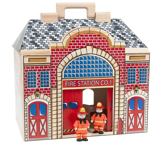 Melissa& Doug Fold and Go Fire Station - Buy Melissa& Doug Fold and Go Fire Station - Purchase Melissa& Doug Fold and Go Fire Station (Melissa & Doug, Toys & Games,Categories,Dolls,Playsets)