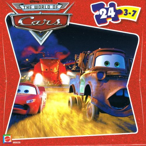 Buy Low Price Mattel Disney Pixar Cars Lightning McQueen, Mater & Combine 24 Piece Puzzle Figure (B0014BB1XY)