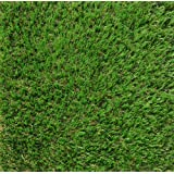 Artificial Classic Lawn Grass - 20 sqm (5mx4m), 20mm Pile Height, Green