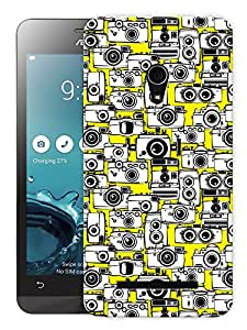 "Humor Gang Lots Of Cameras Printed Designer Mobile Back Cover For ""Asus Zenfone 5"" (3D, Matte, Premium Quality Snap On Case)"