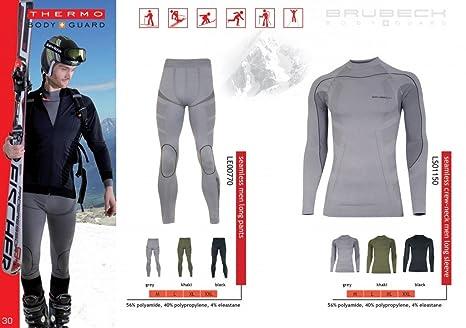 Thermo SET sous-vêtement de Ski de fonction (maillot + pantalon) long - Bodymapping, sans couture, qualité de professionnel
