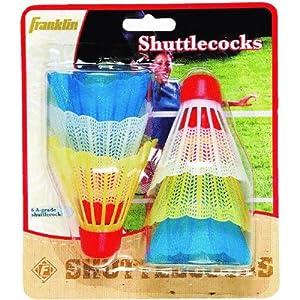 Halex Shuttlecocks, Assorted Colors (6-pack)