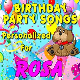 Amazon.com: Happy Birthday to Rosa (Roza): Personalized Kid Music: MP3