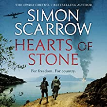 Hearts of Stone (       UNABRIDGED) by Simon Scarrow Narrated by Jonathan Keeble