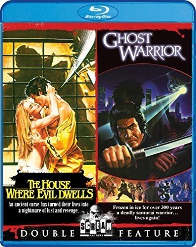 Blu-ray : The House Where Evil Dwells / Ghost Warrior (Widescreen)