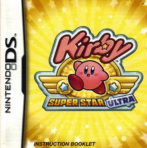 Kirby - Super Star Ultra Ds Instruction Booklet (Nintendo Ds Manual Only - No Game) Pamphlet - No Game Included front-546421
