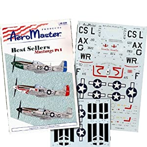 P-51 C/D Mustang, Best Sellers, Pt 1: 355, 359 FG, 67 TRS (1/48 decals)
