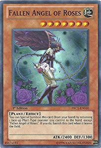Yu-Gi-Oh! - Fallen Angel of Roses (PRC1-EN010) - 2012 Premium Tin - 1st Edition - Super Rare