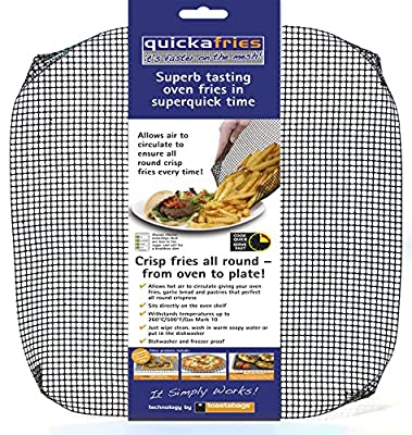 quickafries mesh oven tray. For perfect crisp oven cooking