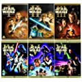 The Complete Star Wars 1 - 6 DVD Movie Collection: Episode 1 - Phantom Menace / Episode 2 - Attack Of the Clones / Episode 3 - Revenge of the Sith / Episode 4 - The New Hope / Episode 5 - The Empire Strikes Back / Episode 6 - Return of the Jedi