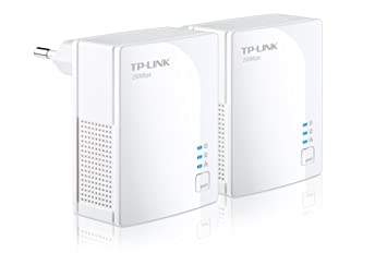 TP-Link TL-PA2010KIT Pack de 2 Nano Adaptateurs CPL Ethernet powerline 200 Mbps