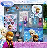 12-Piece Disney's Frozen Beauty Cosmetic Set for Kids - Frozen Beauty Play Kit for Kids