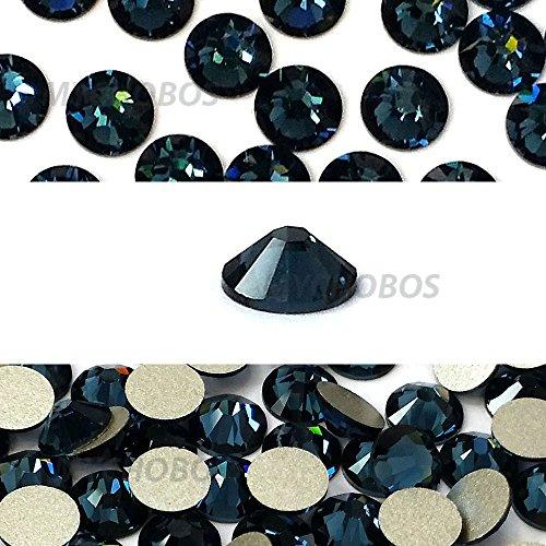 MONTANA (207) blue Swarovski NEW 2088 XIRIUS Rose 34ss 7mm flatback No-Hotfix rhinestones ss34 18 pcs (1/8 gross) *FREE Shipping from Mychobos (Crystal-Wholesale)*