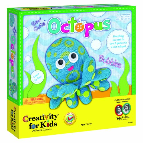 Creativity for Kids Sew Cute Octopus