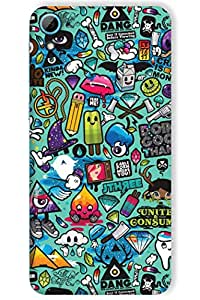 IndiaRangDe Case For HTC Desire 826 (Printed Back Cover)