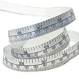 GogoForward 150cm Vinyl Silver Self Adhesive Measuring Tape Ruler Sticker For Sewing Machine