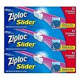 Ziploc Slider Storage Bags, 96 Count