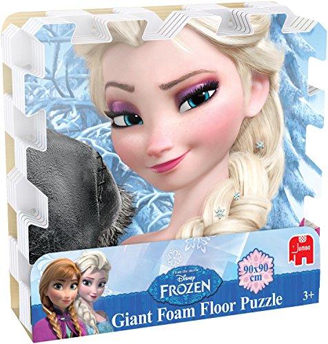 Juegos Jumbo Disney congelados Primer gigante de espuma piso Puzzle (9 piezas)