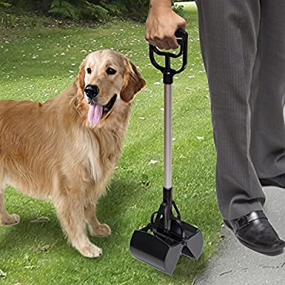 Oxgord Jumbo Pooper Scooper Dog Waste Scoop Sanitary Pickup Remover