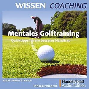 Mentales Golftraining Hörbuch