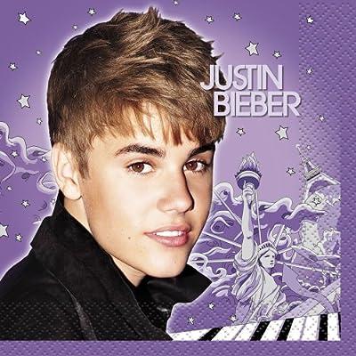 Justin Bieber Beverage Napkins, 16ct