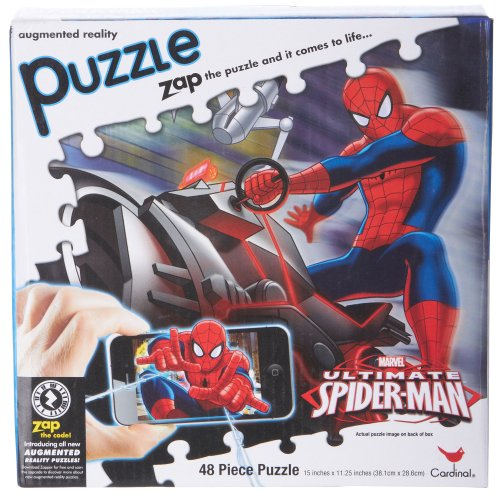 Spider-Man 48-pc. Augmented Reality Puzzle Red/multi