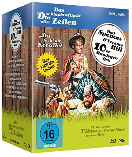 Bud Spencer & Terence Hill - Haudegen-Box [Blu-ray]