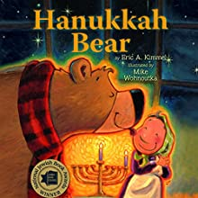 Hanukkah Bear Audiobook by Eric Kimmel Narrated by Laural Merlington