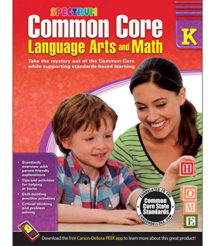 Common Core Language Arts and Math Resource Book Grade K - 1