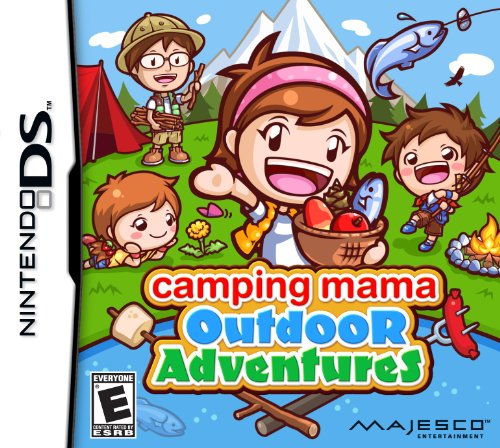 Camping Mama Outdoor Adventures - Nintendo DS - 1
