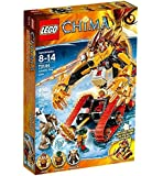 Lego Legends Of Chima-playthèmes - 70144 - Jeu De Construction - Le Tank Lion De Feu