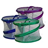 "Bathroom Personal Organizer and Shower Tote 8"" x6"" (assorted colors) ~ Innovative Home Creations"