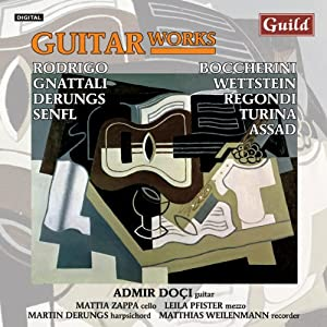 Guitar Works By Rodrigo Turina Boccherini Assad