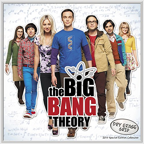 The Big Bang Theory 2016 Calendar: With Customizable Dry Erase Grid